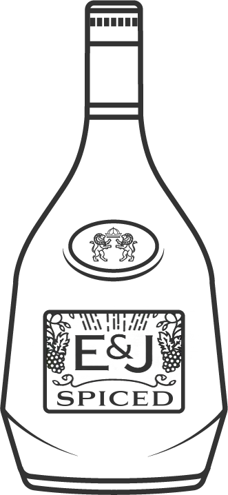 E&J Spiced Brandy Bottle Icon