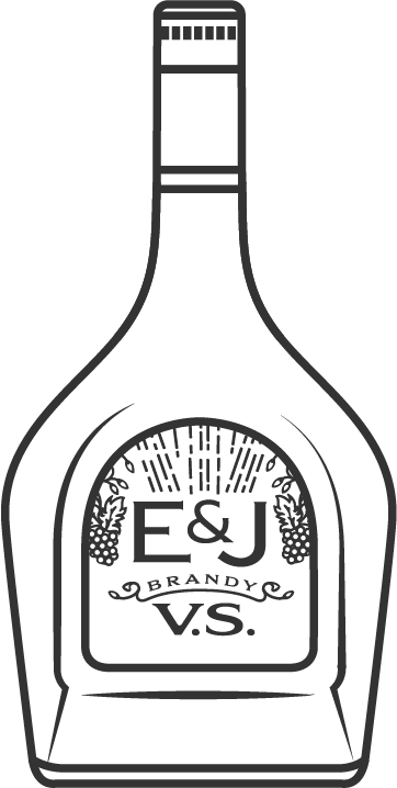 E&J VS Brandy Bottle Icon