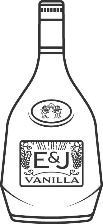 E&J Vanilla Brandy Bottle Icon