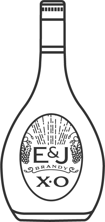 E&J XO Brandy Bottle Icon